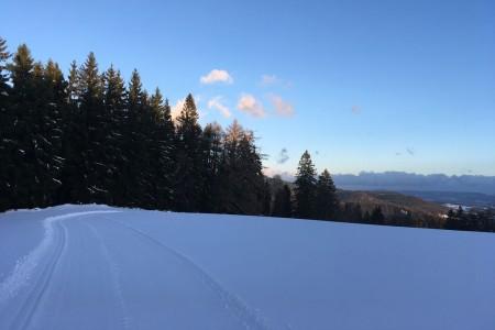 Sněhová vichřice se prohnala přes české hory