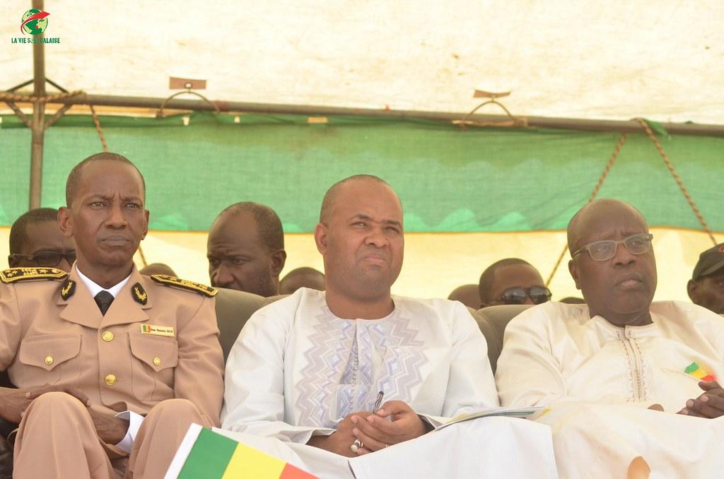 Inauguration d'infrastructures  de base à Mbakhna Par la Fondation SONATEL (49)