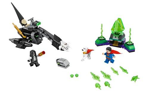LEGO DC SuperHeroes 76096 Superman & Krypto Team-Up 00