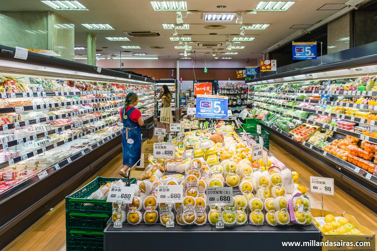 Supermercados en Japón