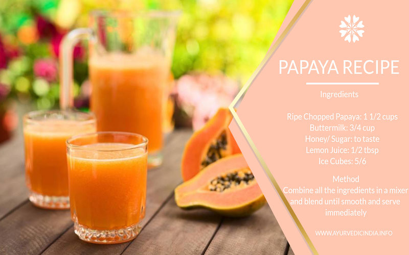 papaya recipe