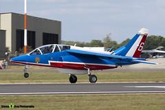 E163 6 F-TERB - E163 - Patrouille de France - French Air Force - Dassault-Dornier Alpha Jet E - RIAT 2010 Fairford - Steven Gray - IMG_9748