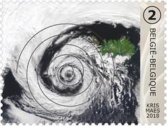 12 GÉOMÉTRIE DS LA NATURE timbre A