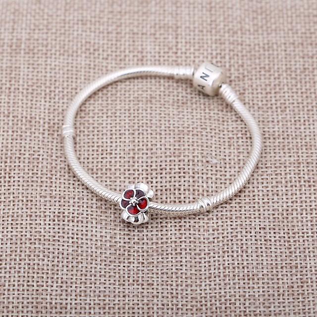 British Rose Charm Pandora PL_01