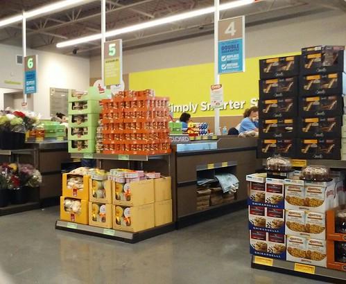 aldi supermarket grocery store checkouts frontend portcharlotte fl florida