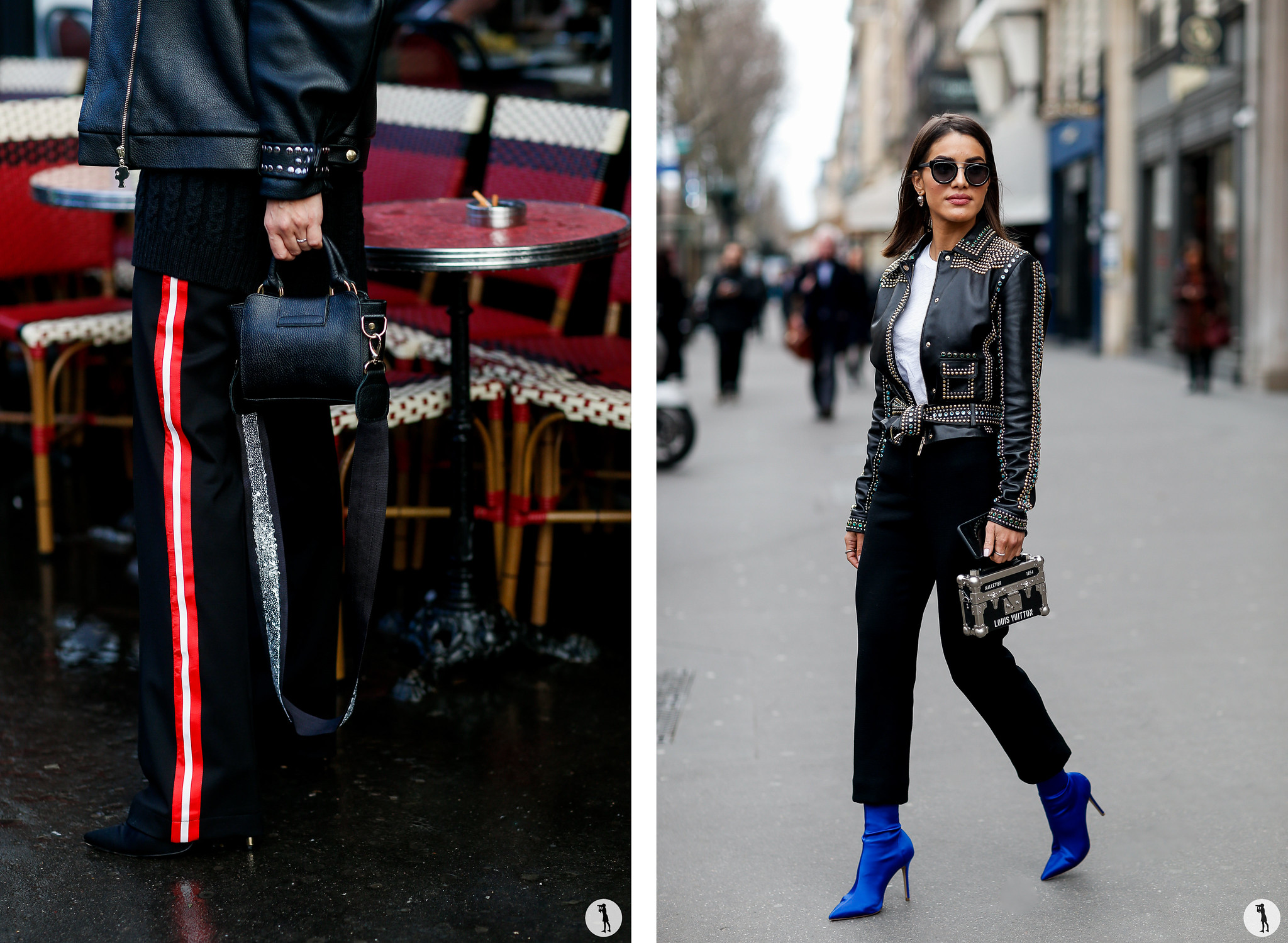 Street Style - - Paris Fashion Week Haute-Couture SS18