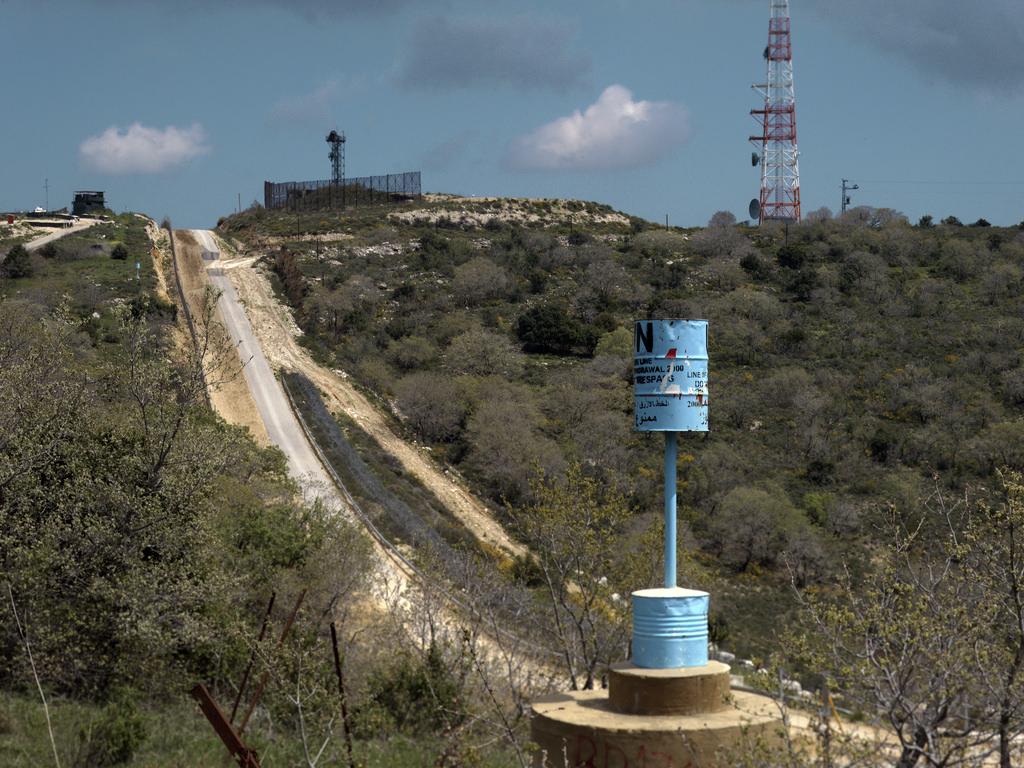 الخط الأزرق بين لبنان وإسرائيل