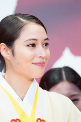 "Hirose Alice from ""MIKO GIRL"" at Opening Ceremony of the Tokyo International Film Festival 2017"