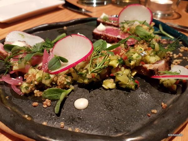 Allium tuna tataki
