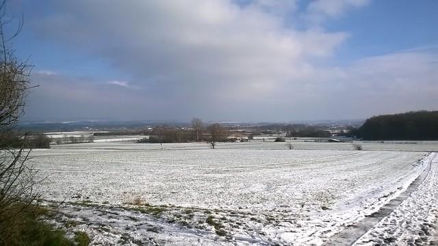 Snow around the Tomburg