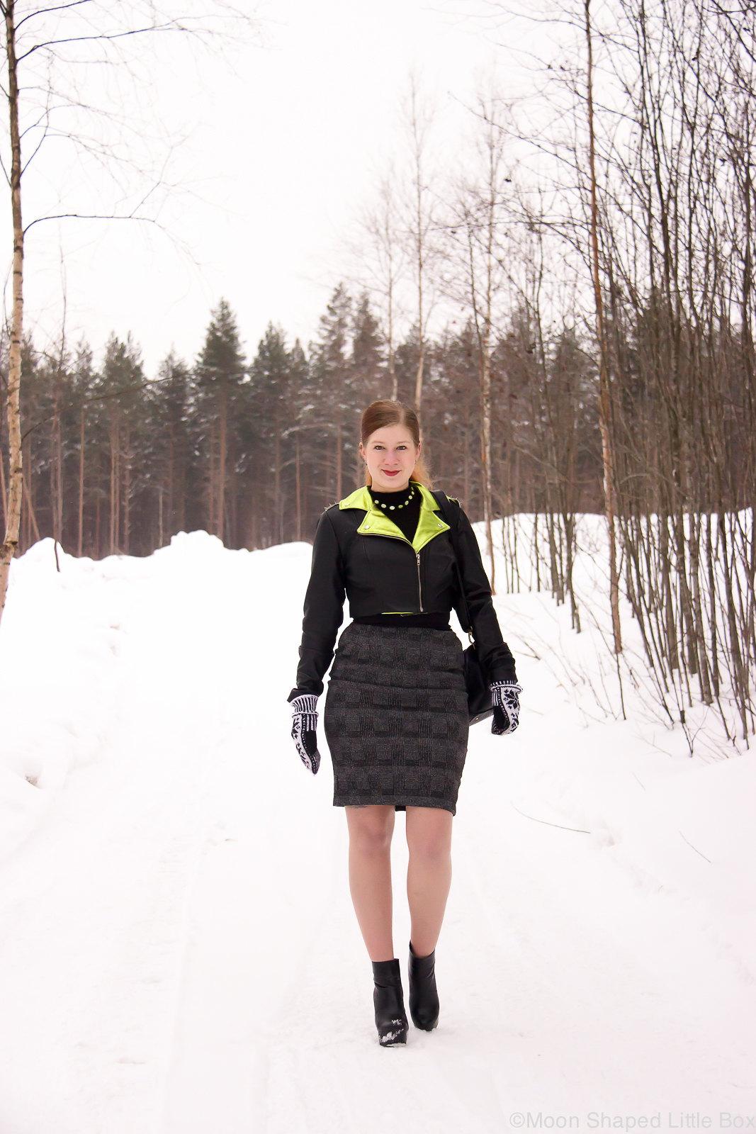 kotimainen nahkatakki, nahkatakki Suomesta, cropattu nahkatakki, tyylibloggaaja