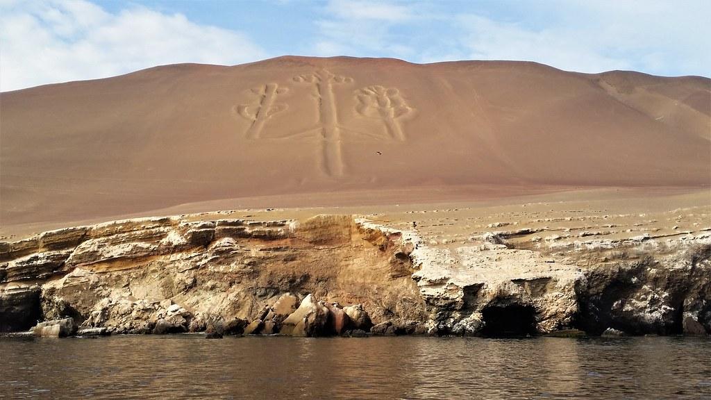 Kandelabr z Paracas Peru