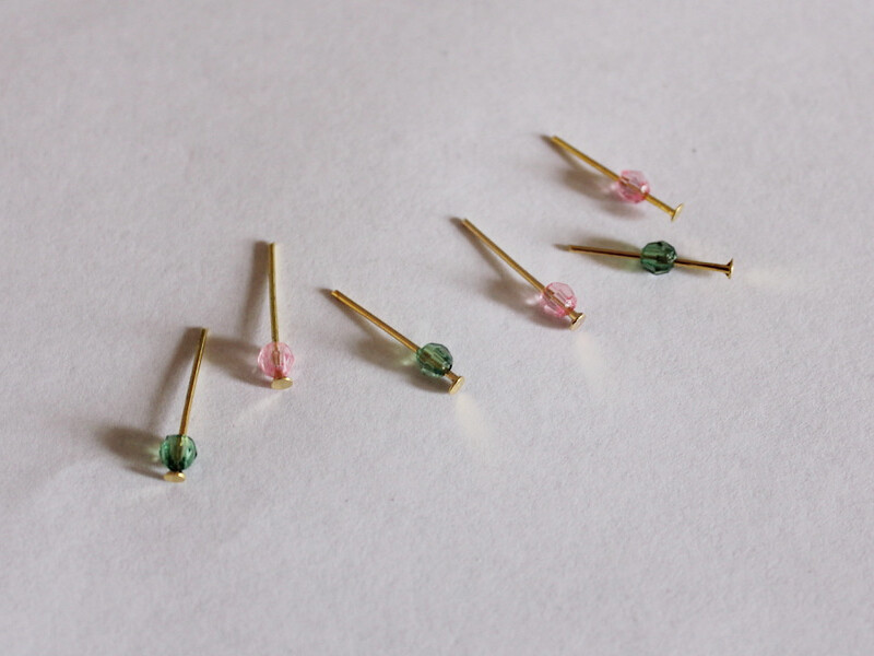 beads on pins