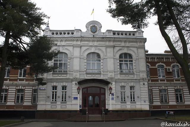 Колишнє Олексіївське реальне училище (нині міськвиконком)