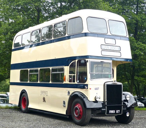 RWB 87 'SCTD' No. 687. Leyland Titan PD2/12 / Weymann /2 on Dennis Basford's railsroadsrunways.blogspot.co.uk'