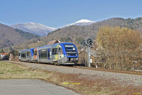 UM X73902-X73521 TER 832781 Kruth-Mulhouse à Bitschwiller-les-Thann