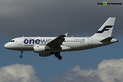 OH-LVD - 1352 - Finnair - Airbus A319-112 - Heathrow - 170402 - Steven Gray - IMG_3163