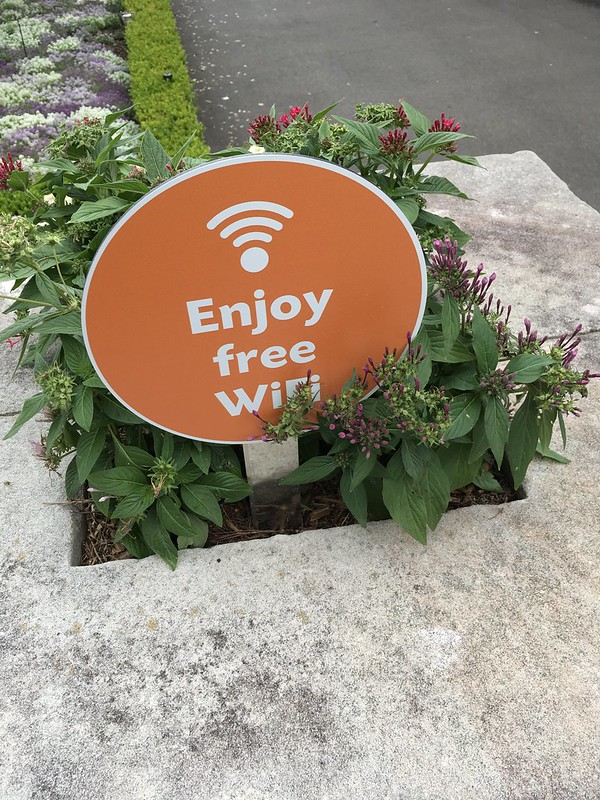 Wifi at the Royal Botanic Gardens, Sydney