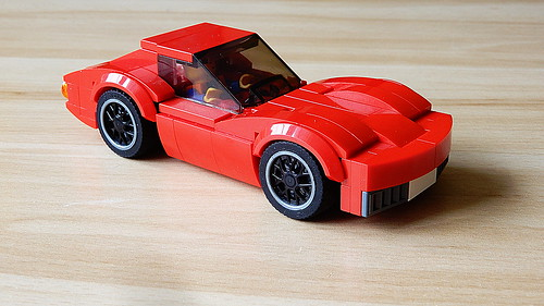 How to Build Chevrolet Corvette Stingray C3 (MOC - 4K)