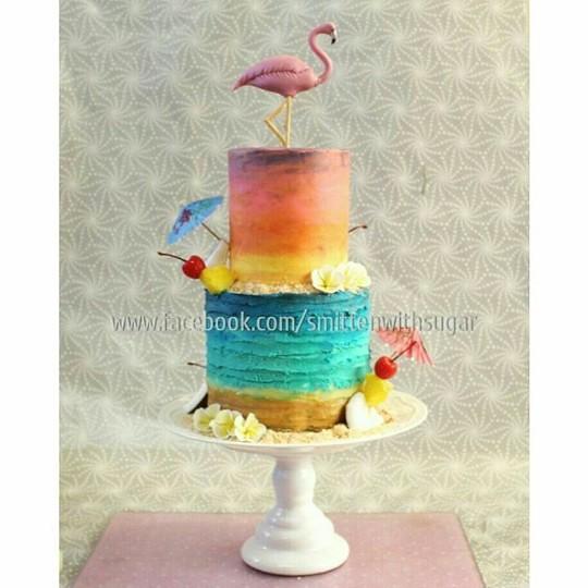 Cake by Melissa Jansen van Vuuren of Smitten with Sugar
