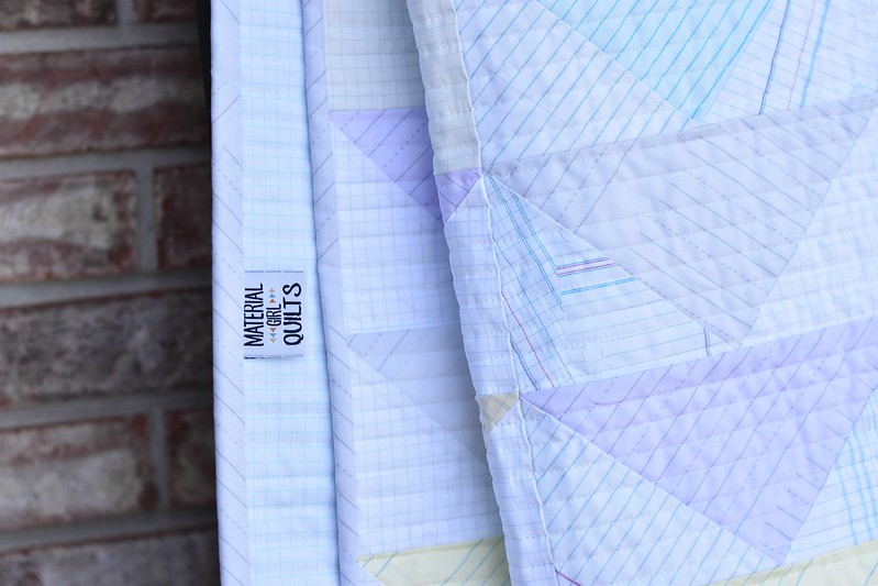 Quiet Flight quilt by Amanda Castor of Material Girl Quilts