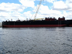 Tampa Bay Photo: Floating Dry Dock