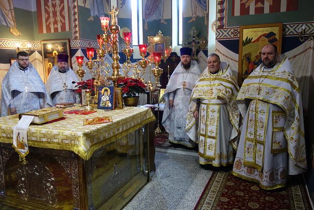 II dzień Bożego Narodzenia i oświęcenie kiotu św. Nektariusza