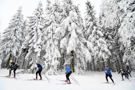 Kašperská 30 zavedla závodníky do pohádkově zasněženého Národního parku Šumava