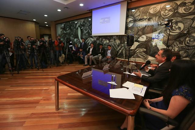 Rueda de Prensa: Exámen Ser Bachiller primer semestre 2018
