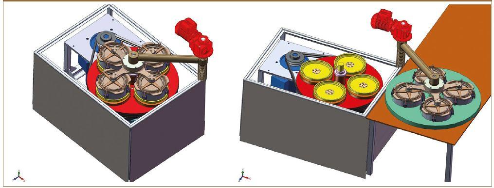 Полуавтоматический комплекс переработки керновых проб