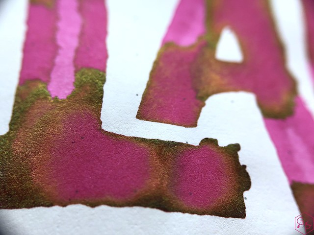 Ink Shot Review @LAMY Vibrant Pink 2018 Ink @laywines 24