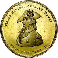 Anthony Wayne medal by Robinson