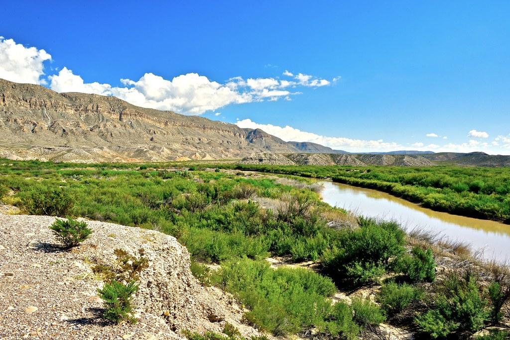 The Rio Grande, Texas-Mexico