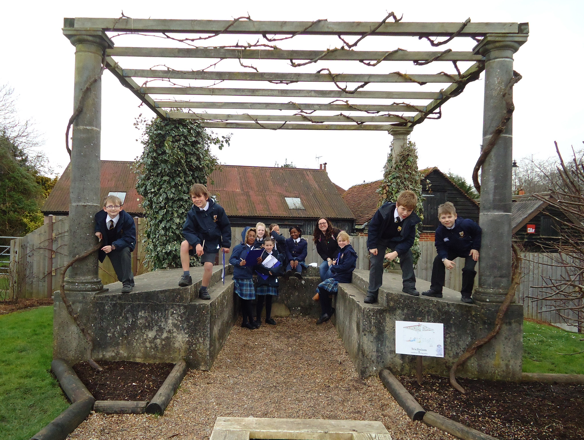 Year 4 Trip to Fishbourne Roman Palace