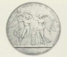Columbia Simon Bolivar medal obverse