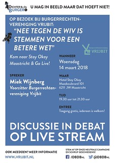 Discussie in Debat Maastricht 140318
