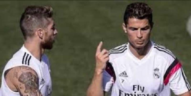 Cristiano Ronaldo Hampir Saja Berantam dengan Sergio Ramos