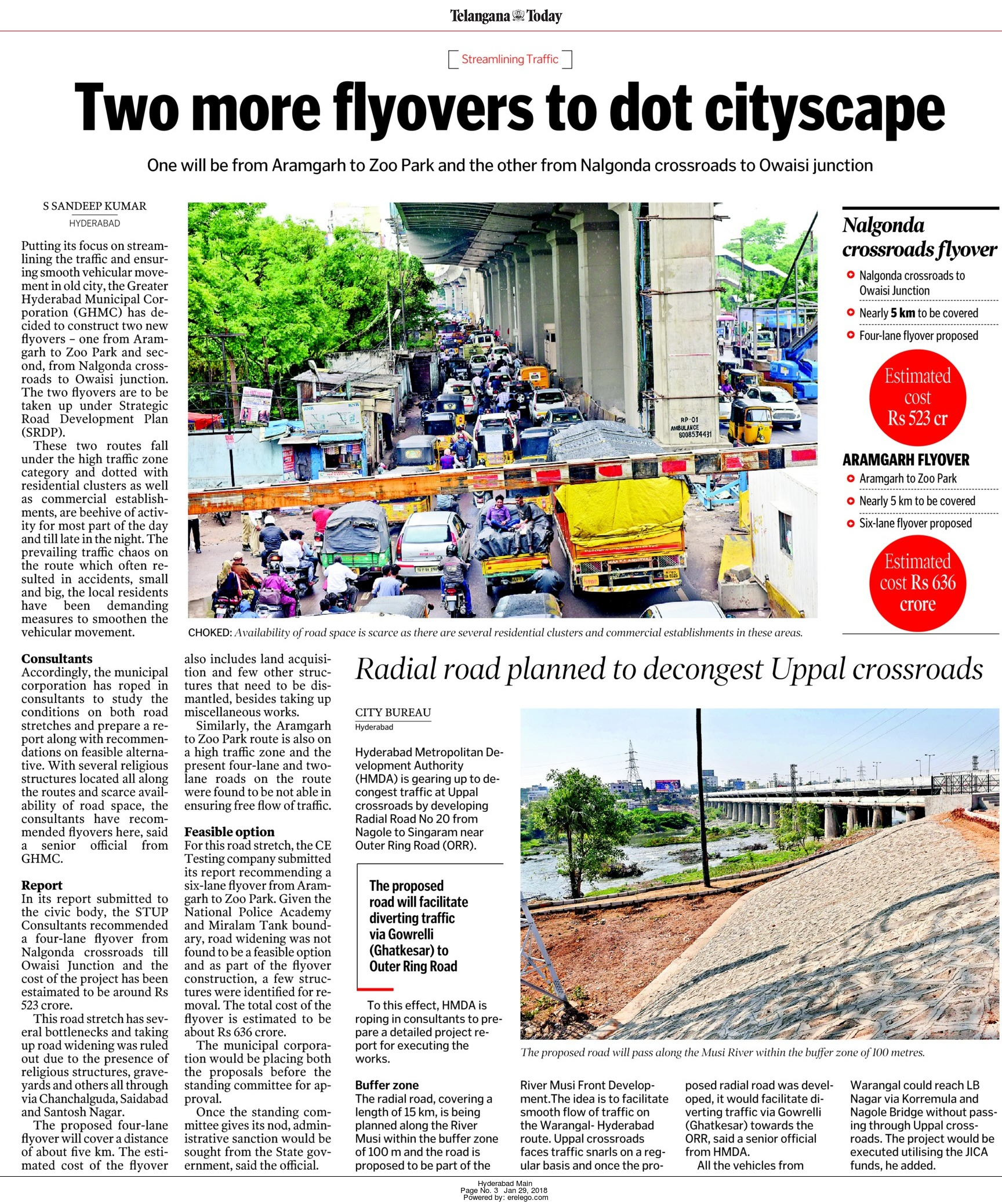 Hyderabad Roads & Flyovers - Page 101 - SkyscraperCity
