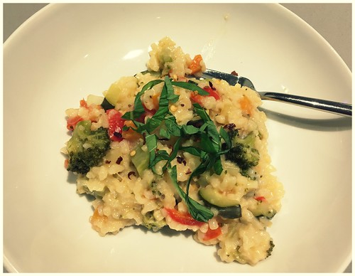Plated Risotto
