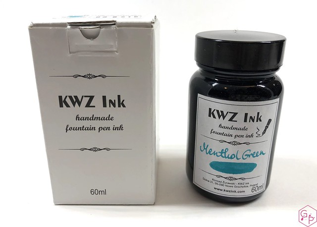 Ink Shot Review KWZI Menthol Green @AppelboomLaren 3
