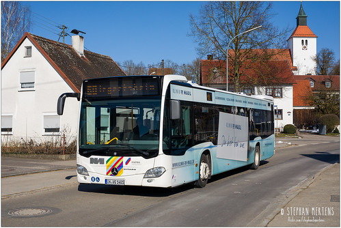 Stadtbus Ingolstadt Evobus O 530  Nr. 1401