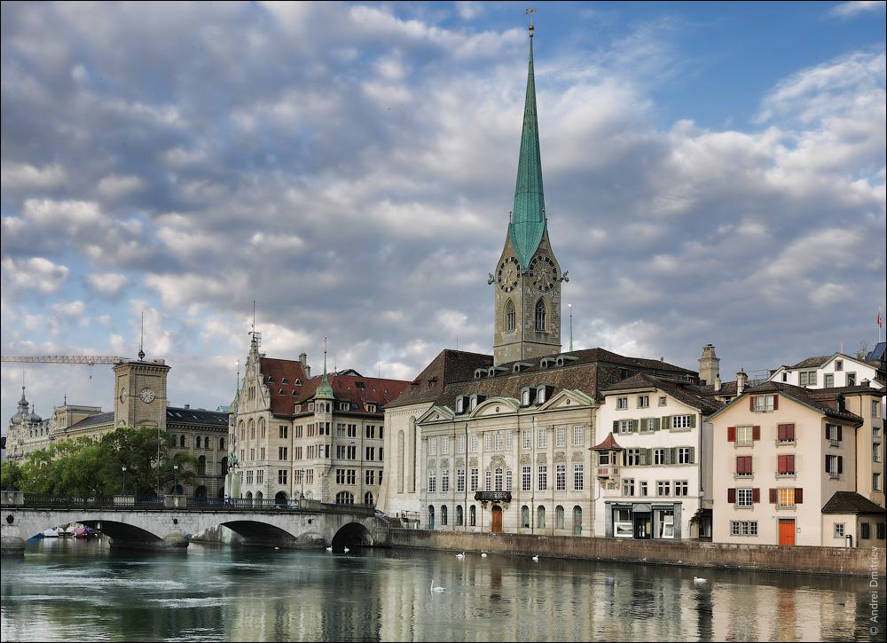 Фраумюнстер, Цюрих, Швейцария