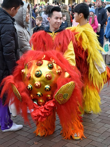 Chinese New Year Celebrations, Carlisle, Cumbria