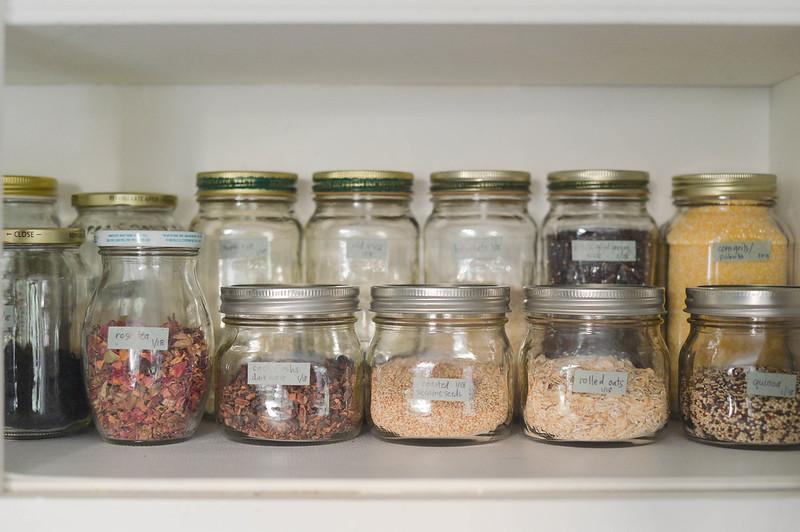 organized pantry!