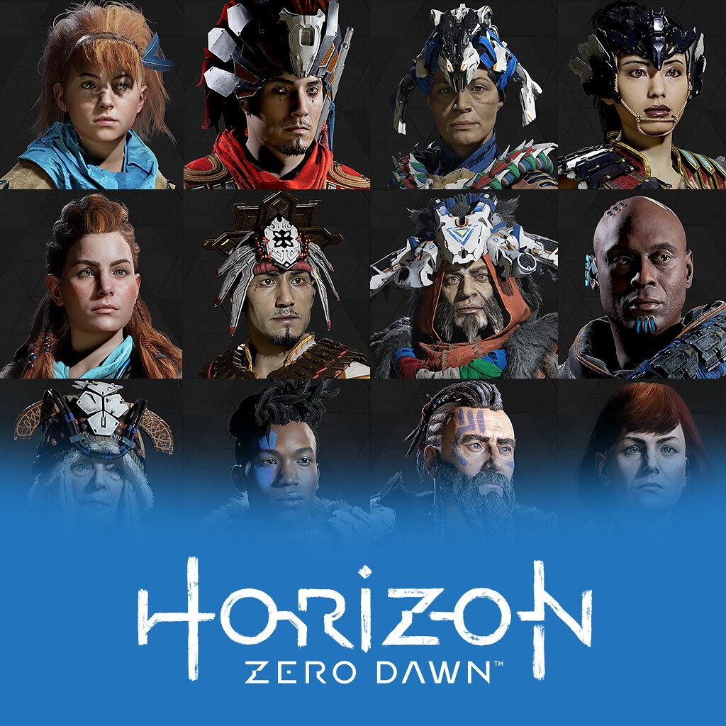 Horizon Zero Dawn Anniversary Avatars