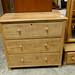 Natural pitch pine E130 drawers