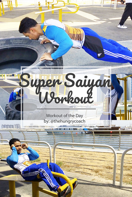 The Hungry Coach - Super Saiyan Workout