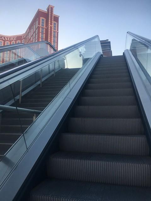 Escalator,  Las Vegas Strip