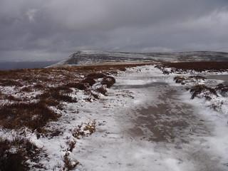 Mynydd Llangorse towards Mynydd Troed