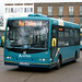 herts - arriva 2600 stevenage bus sta 02-02-18 JL